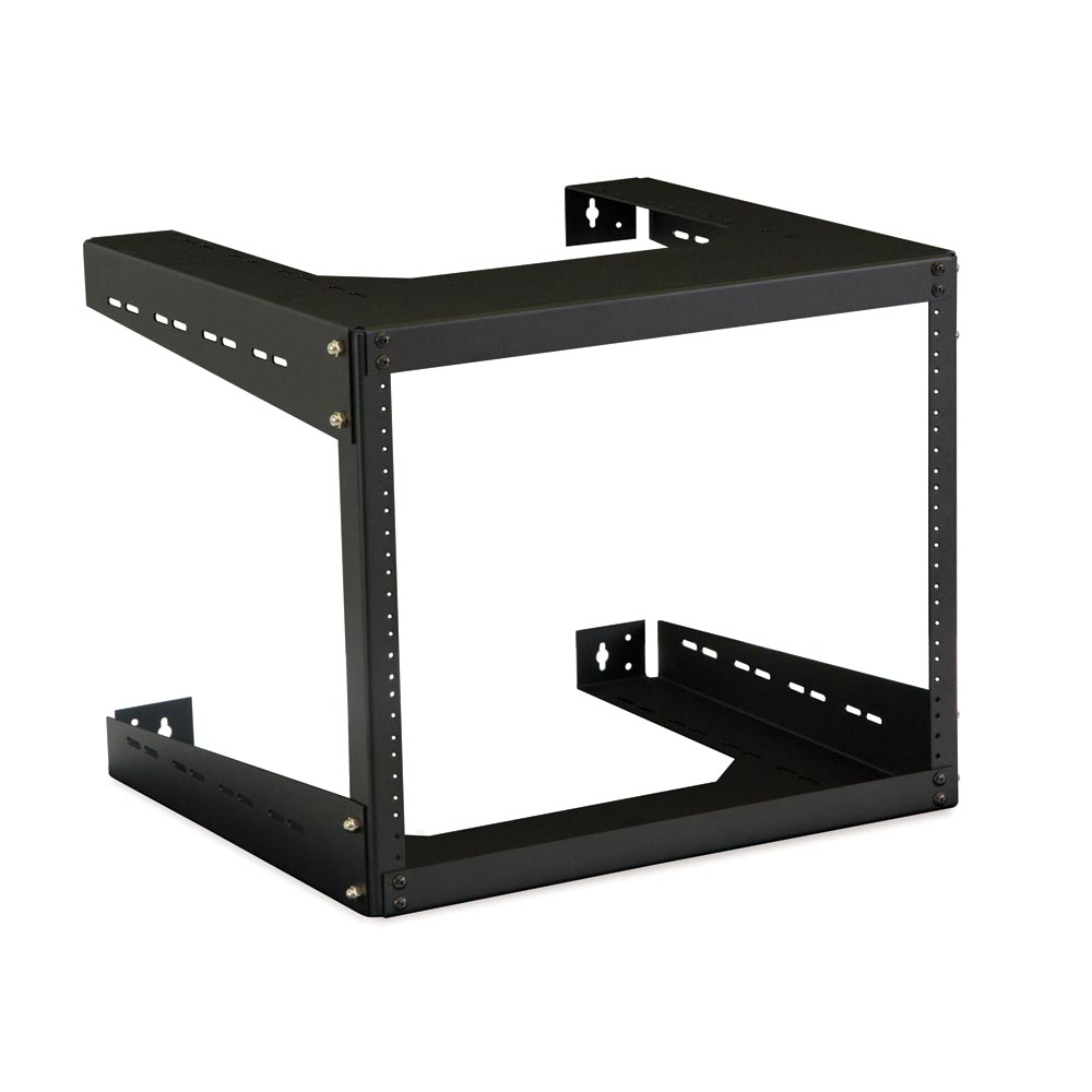 "8U 18"" Deep Open Frame Wll Rack"
